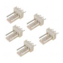 3-WAY 2.54MM PLUG (MALE) 5 PCS