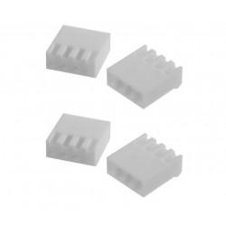 4WAY SOCKET (F) 3.96MM 4PCS