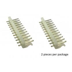 12-WAY 3.96MM PLUG (MALE) 2PCS