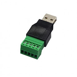 USB A (M) PLUG TO 5 PIN...