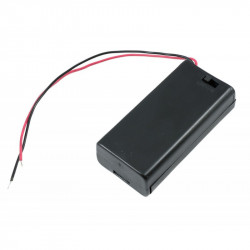 BATTERY HOLDER, AAx2,...