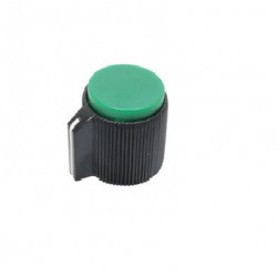 KNOB 20MMX12MM GREEN RN-115B