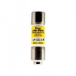 FUSE, LP-CC-15, 15A, 600V,...