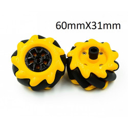 MECANUM WHEELS SET - 60MM...