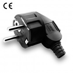 POWER PLUG TYPE E FLUSH...