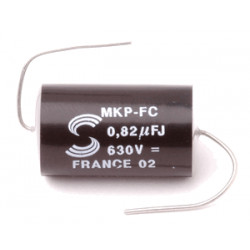 SOLEN CAP 630V 0.82UF, PPE082