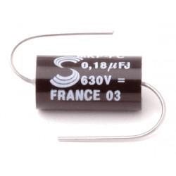 SOLEN CAP 630V 0.18UF, PPE018
