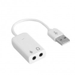 USB TO AUDIO 3.5MM AND MIC...