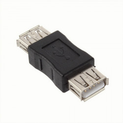 ADAPTER, USB 2.0, A TO A, F/F