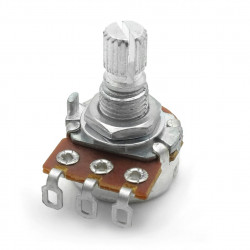 POTENTIOMETER, LOG A25K,...