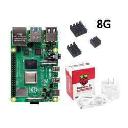 RASPBERRY PI 4 MODEL B KIT,...