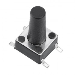 SMD TACTILE SWITCH 6X6X16H...