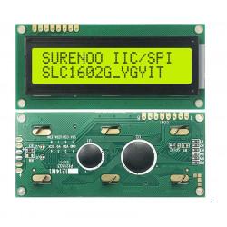 LCD 16X2, LCM1602C-33, SPI...