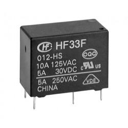 RELAY, HF33F 012-H3, 12VDC,...