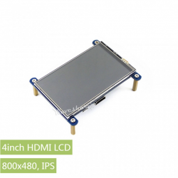 RESISTIVE TOUCH LCD, 4INCH...