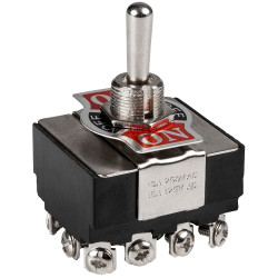 TOGGLE SWITCH 4PDT...