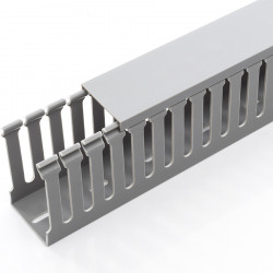 WIRE DUCT 40X60X2000MM GRAY