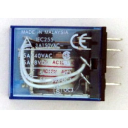 RELAY OMRON MY4J 4PDT 12VAC...