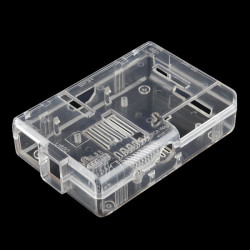 ENCLOSURE, PI CASE FOR THE RASPBERRY PI (CLEAR)