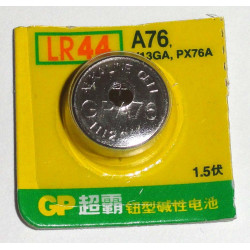 BATTERIES ALKALINE 1.5V LR44SW GP-A76