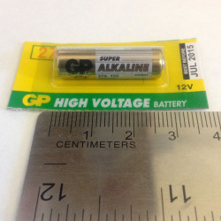 BATTERIES GP27A-C5 12V ALKALINE