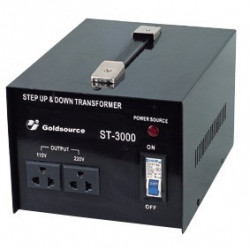 TRANSFORMER, STEP UP/DOWN, 3000W, ST-3000