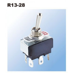 TOGGLE SWITCH, SPDT, 1-0-1,...