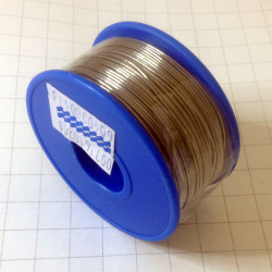 SOLDER, LEADED, ROSIN CORE,  0.6mm, 200g