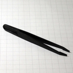 TOOL, TWEEZER,ANTISTATIC,NARROW FLAT TIP,93305