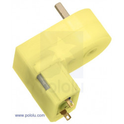 180:1 MINI PLASTIC GEARMOTOR OFFSET 3MM D-SHAFT