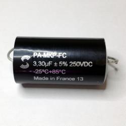 SOLEN CAP 250V 3.3UF, PA330