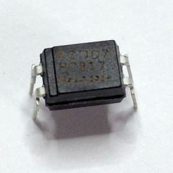 IC, PC817C, 1 CHANNEL OPTO-COUPLER TRANS. DIP
