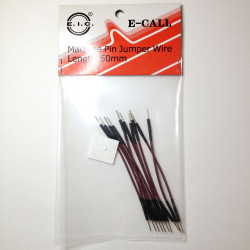 BREADBOARD JUMPER WIRES 50MM 10/PKG