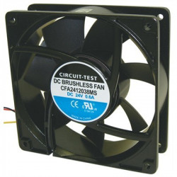 "FAN 4.72"" (120MM) 24VDC 121CFM CFA2412038MS"