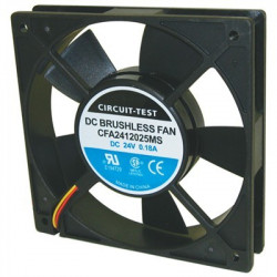 "FAN 4.72"" (120MM) 24VDC 74.5CFM CFA2412025MS"
