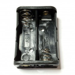 BATTERY HOLDER, Nx2, SIDE...