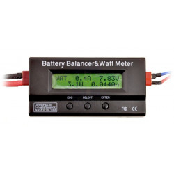 BATTERY BALANCER & WATT METER MAX 60V 100A