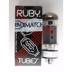 TUBE, RUBY, 6L6GC, DUAL/QUAD