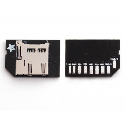 LOW PROFILE MICROSD CARD ADAPTER FOR RASPBERRY PI