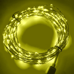 LED STRING LIGHT YELLOW 12V...