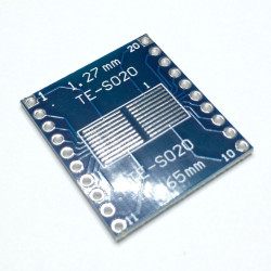 PRINTED CIRCUIT BOARD TE-SO20 AND 1.27MM AND 0.65M