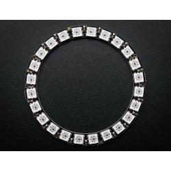 NEOPIXEL RING - 24 X WS2812 5050 RGB LED W/DRIVERS