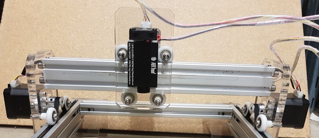Picture of Assemble the Stepper Motor Carriage