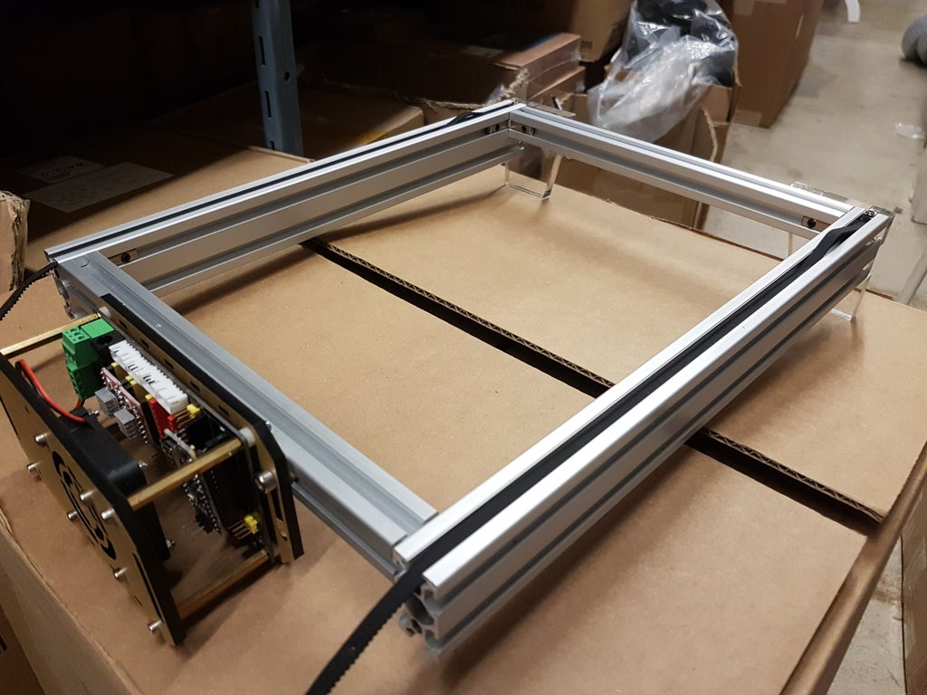 Picture of Assembling the Base Frame