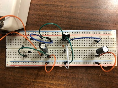 Picture of Add the Voltage Regulator to Give 5v DC Output